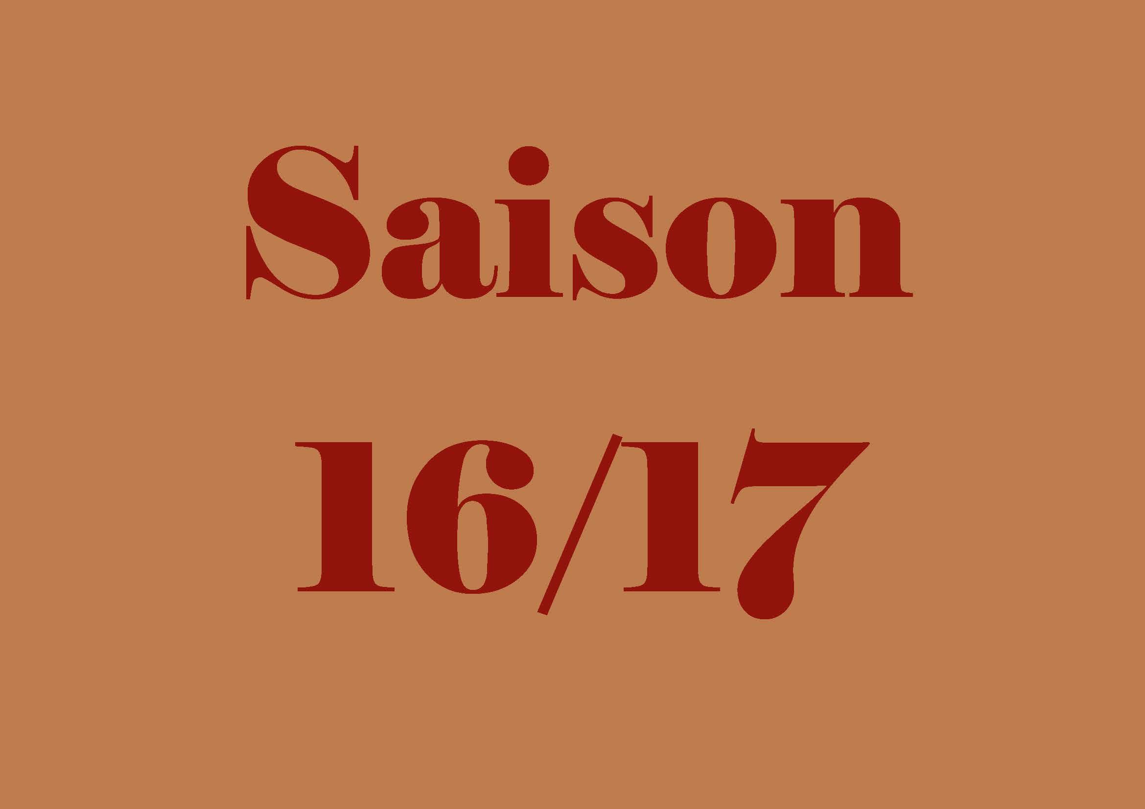 Saison 16 17