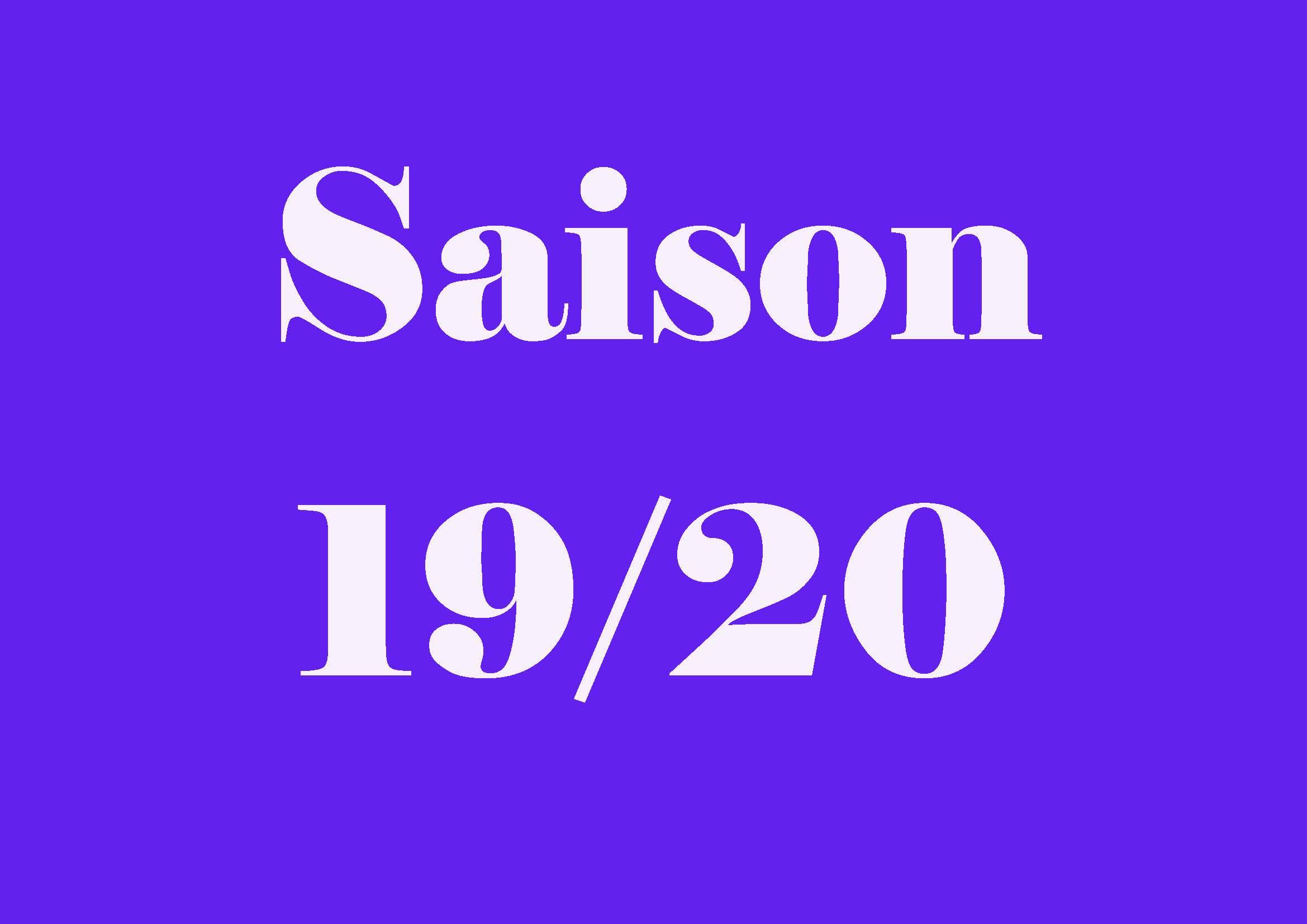 Saison 19 20